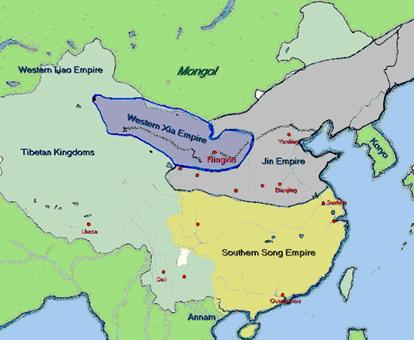 Rise of the mongol empire