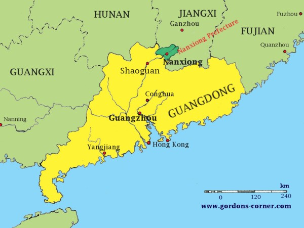 Map - GuangDong