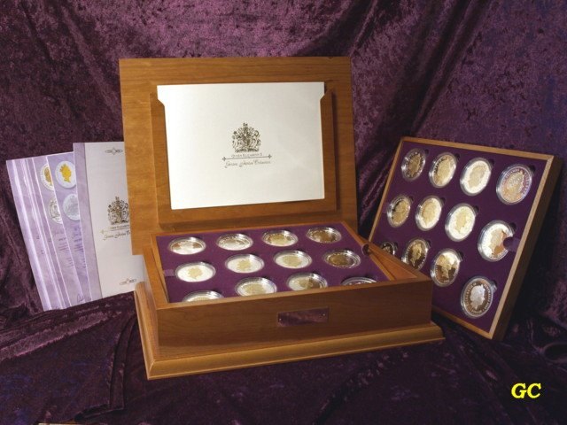 coronation coin set